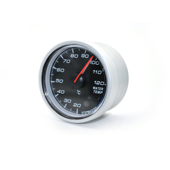 2'' 52MM Car Led Water Temperature Gauge 20-120 Celsius With Water Temp  Joint Pipe Sensor Adapter 1/8NPT