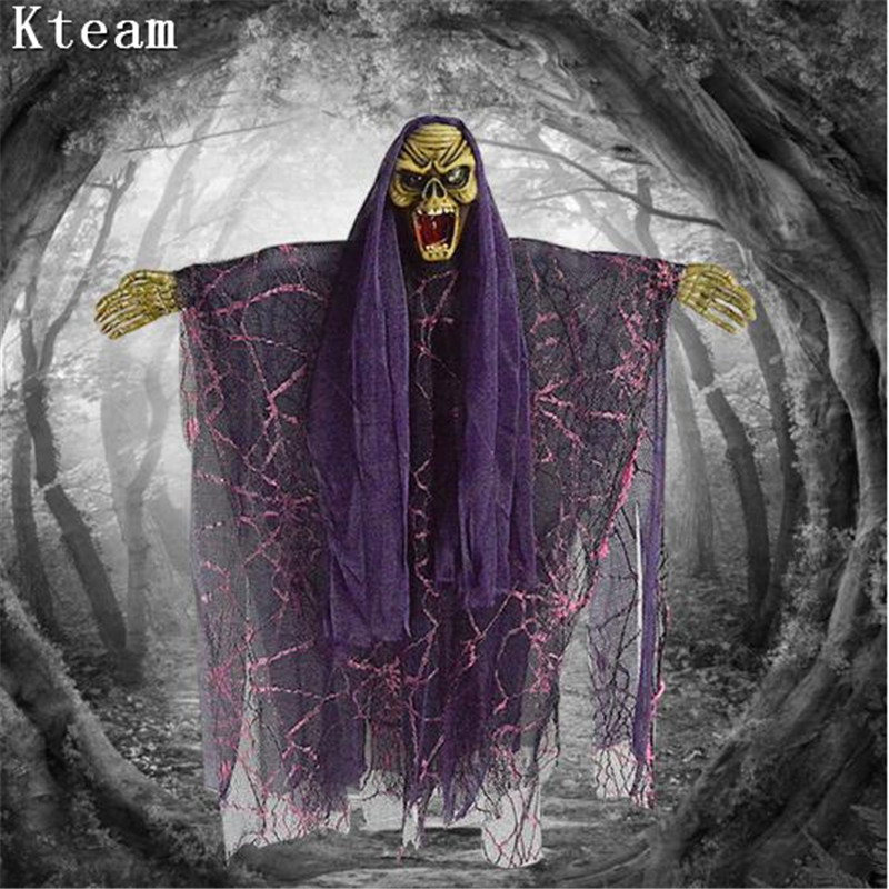 Utilería para decoraciones de Halloween DIY, casa embrujada, Reaper, fantasma, bruja, fantasma - 5