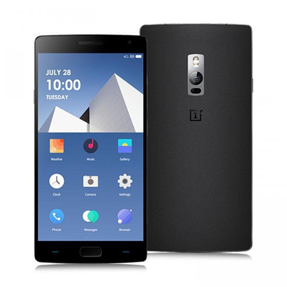 Oneplus 2 Oneplus deux 4 GB Snapdragon 810 1.8 GHz Octa Core 5.5 pouces FHD IPS 2.5D Arc écran Android 5.0 4G LTE Smartphone