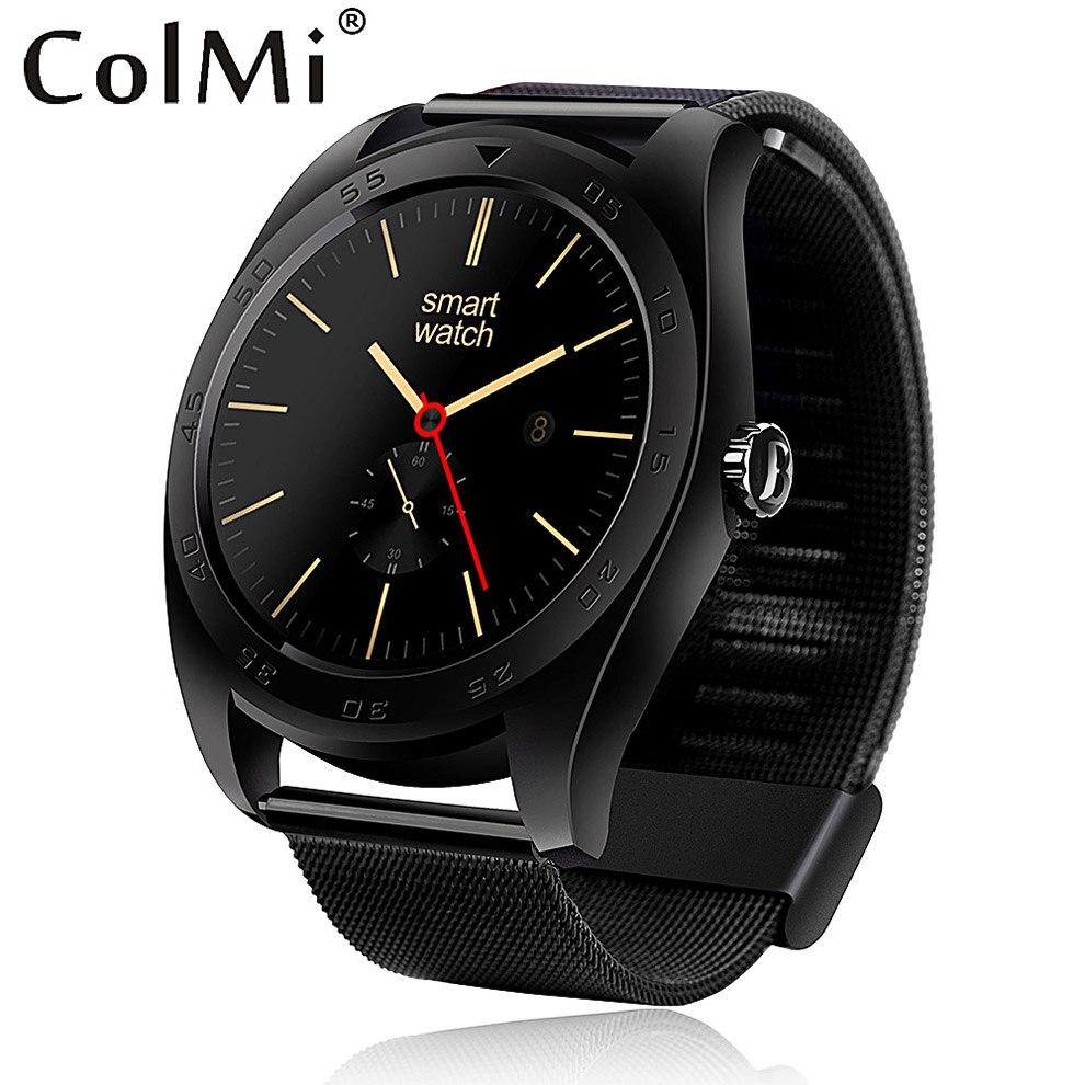 COLMI VS303 Montre Smart Watch HD Affichage Moniteur de Fréquence Cardiaque Podomètre Fitness Tracker MTK2502C Hommes Smartwatch Connecté Pour Android IP