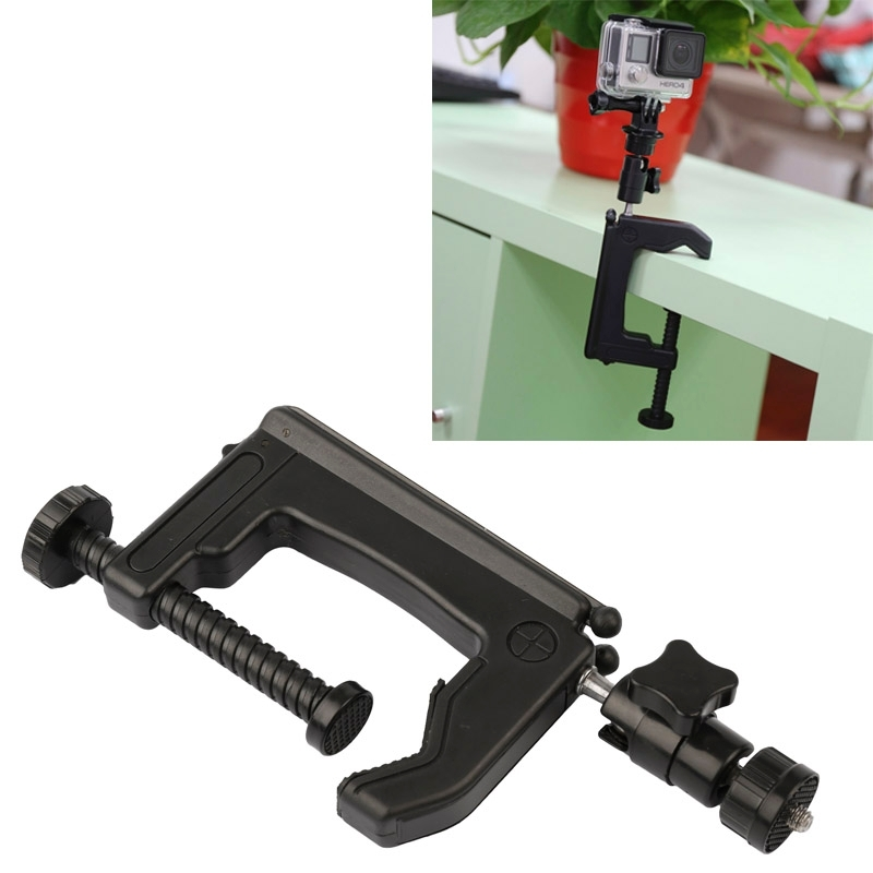 Go Pro Accessories Table Clamp Desktop Holder Mount Tripod Adapter for GoPro HERO5 HERO4 Session HERO