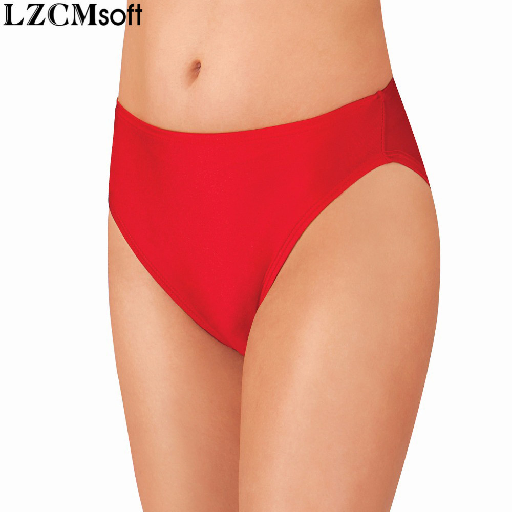 LZCMsoft נשים סקסי גבוהה רגל לחתוך ריקוד מכנסיים ספנדקס לייקרה אמצע מותן שחור מכנסיים קצרים שלל עבור בנות בלט רוקד תחתונים
