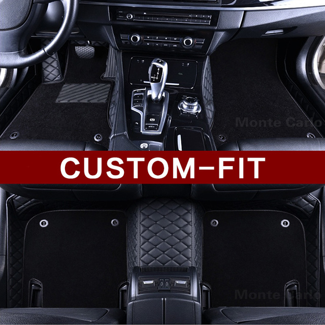 High Quality Custom Fit Car Floor Mats For Chevrolet Camaro Impala