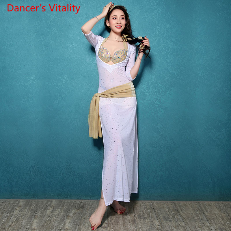 Belly Dance Dress Belly Dance Dancing Bollywood Costumes 1 Pcs Professional Women Belly Dance Costumes