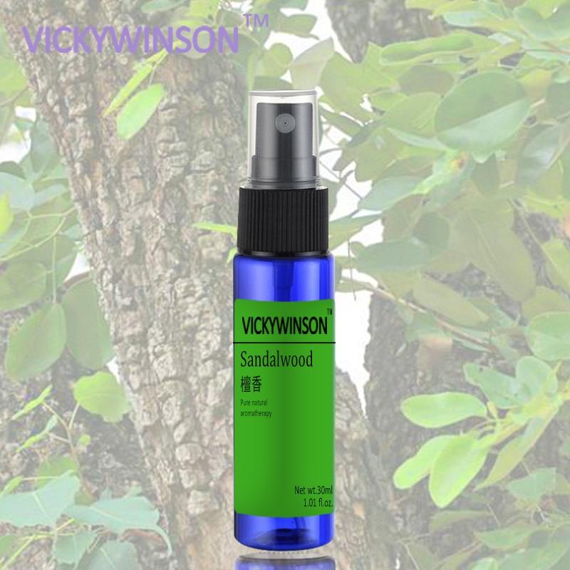 Sandalwood Deodorant Armpit Spray Body Care Antiperspirant Cleaner Remove Deodorant Underarm Removal 30ml