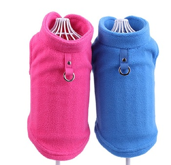 Dog Clothes for Small Dogs Winter Warm Fleece Dog Vest T-shirt Puppy Chihuahua Cat Coat tshirt Yorkies Poodle Pet Clothing 35