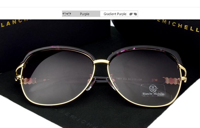 HTB1CEabbfBNTKJjSszeq6Au2VXah - Blanche Michelle 2018 High Quality Square Polarized Sunglasses Women Brand Designer UV400 Sun Glasses Gradient Sunglass With Box