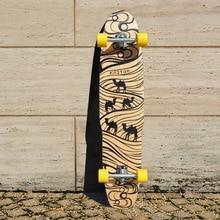 font b KOSTON b font pro dancing style longboard completes 44inch long font b skateboard