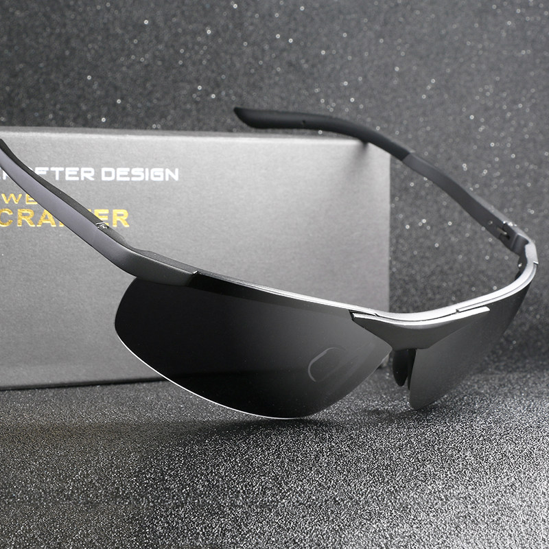 8e95b18d4c Wholesale Brand Designer Aluminum Magnesium Alloy Polarized Sunglasses For Men  Driving Sun Glasses 6806-in Sunglasses from Men s Clothing   Accessories on  ...