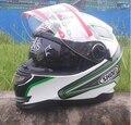 Бесплатная доставка SHOEI мотоциклетный шлем полный шлем Мотоциклетный Шлем ATV шлем Безопасности с двумя объективами WHITE3