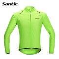 Santic Waterproof Cycling Jersey Long Sleeve Rain Jacket Ropa Ciclismo Windproof Bicycle Clothing MTB Bike Jacket Cycle Raincoat