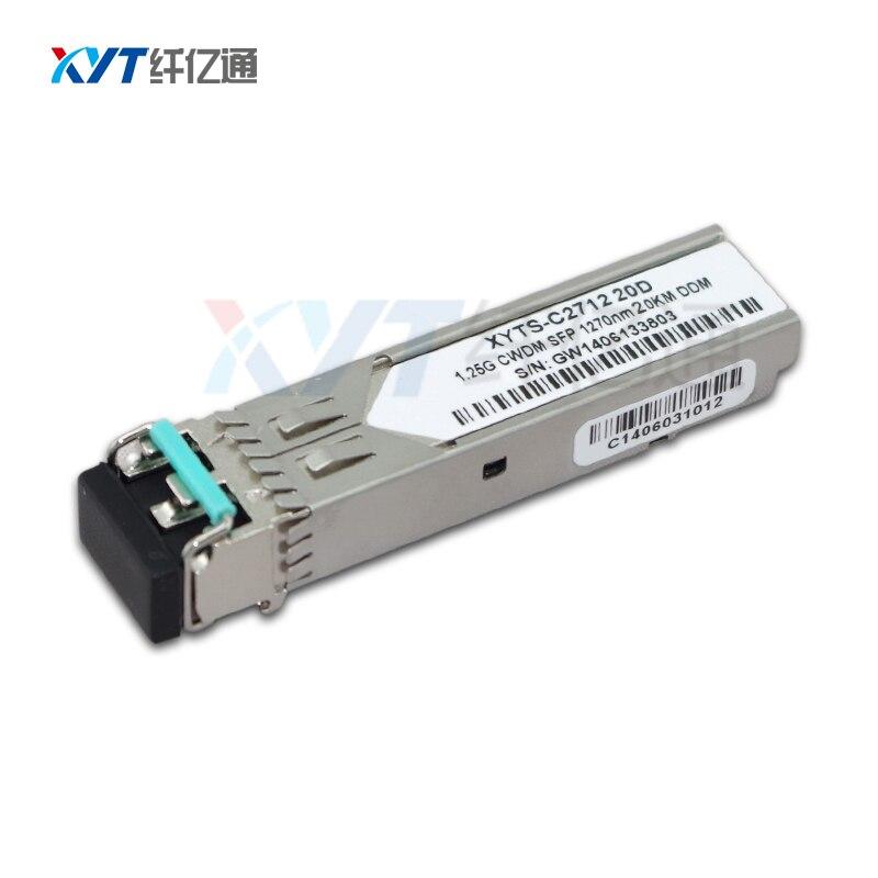 WDM Technology 1.25G 10KM 20km 1610nm 1470nm 1330nm 1310nm Módulo - Equipamento de comunicação - Foto 3