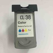 Vilaxh CL38 compatible ink cartridge for canon CL-38 For Canon CL 38 IP1800 1900 2500 2580 2600 MP140 160 190 printer