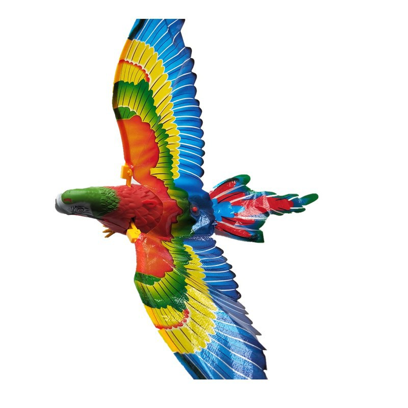 Flying Bird Plane Flapping Wing Flight Model Electric Suspension Line Eagle Electric Hovering Flying Eagle Bird Toy 360 Rotation in RC Robots Animals from Toys Hobbies