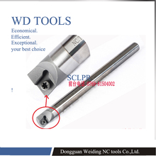 10mm-32mm 80 degree solid carbide SCLPR CNC lathe internal turning tool holder boring bar cutting tool cylinder boring bar bt40 bsb90 180 handle thick knife rod bsb 90 degree coarse boring bar tool holder boring holder with square boring bit