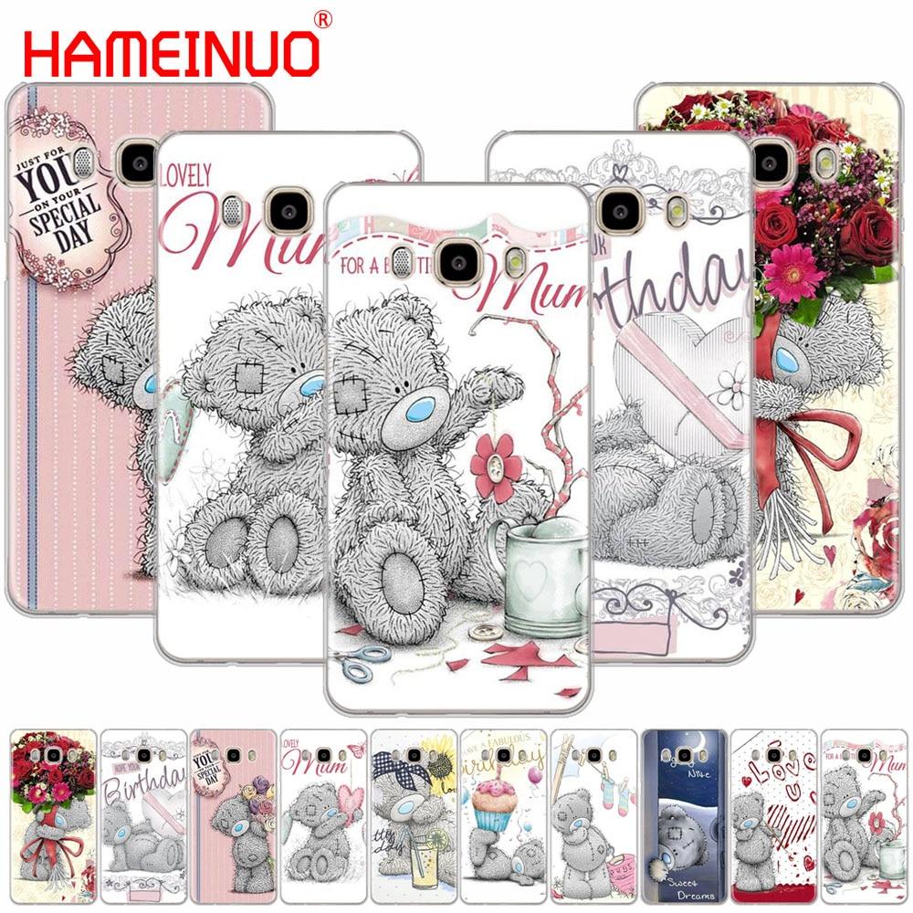 HAMEINUO Tatty Teddy Cute bear cover phone case for Samsung Galaxy J1 J2 J3 J5 J7 MINI ACE 2016 2015 prime