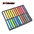 24 Color Hair Chalk Set Soft Crayons Mungyo Chalk Pastels Easy Temporary Hair Chalk Dye Chalk Pastel Drawings