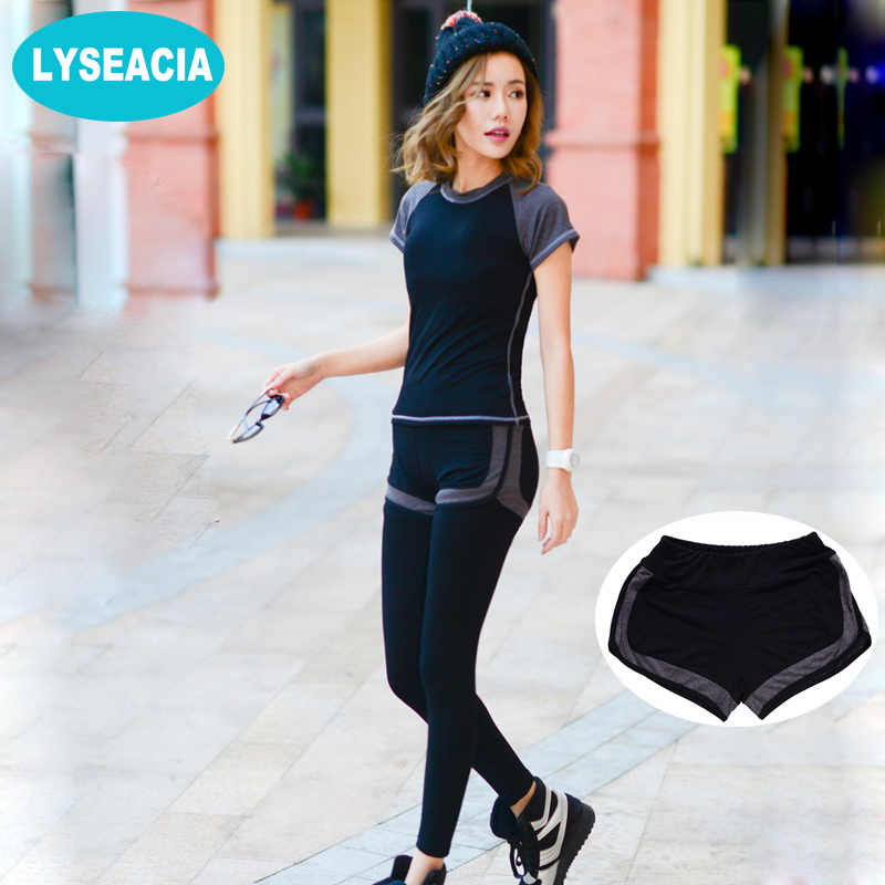 LYSEACIA 100% Modal Sportswear Breathable Short Sleeve