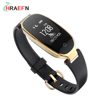 Hraefn Smart Band S3 Bluetooth Smartband IP67 Waterproof Heart Rate Monitor Fitness Watch For IOS Android