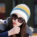 All-match Fashion Warm Comfort Softness Cute Autumn Winter 100% Handmade Knitted Hat Women Beanie Outdoor Cap