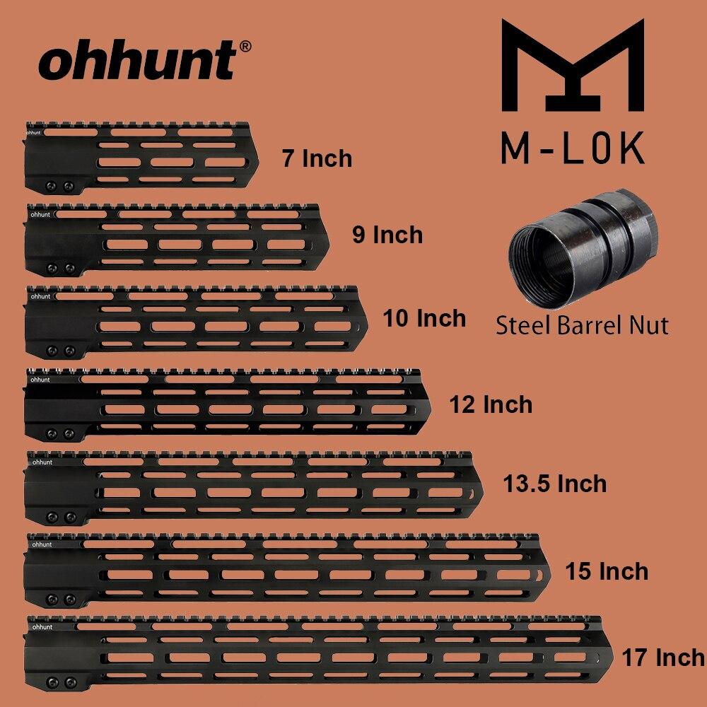 Ohhunt Tactische M-LOK Handguard Rail 7