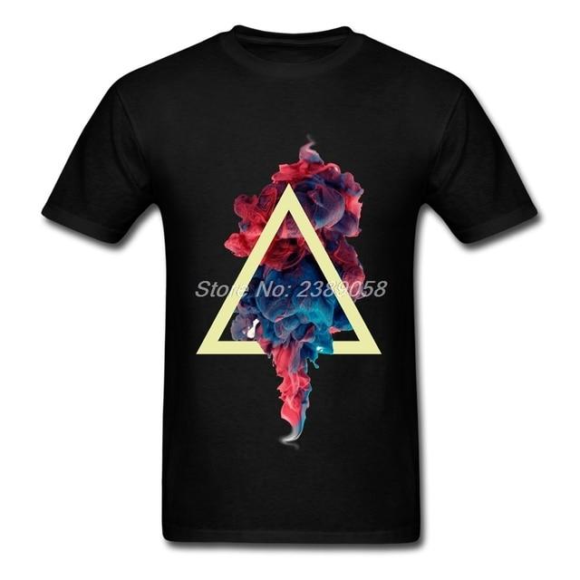 Men t shirt Design Cheap Abstract Color Shirts Brand Hipster Short ...