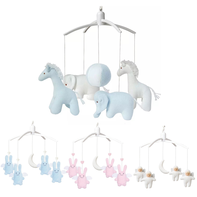 Baby Rattles Sewing Completed Toys For Baby Bracket Newborn Crib Bed Bell Muziek Mobile Bebek Oyuncak Baby Toys 0-12 Months