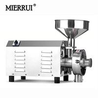 220V/110V Stainless Steel Electric Soybean Grinder Cocoa Powder Making Machine Corn Grinder