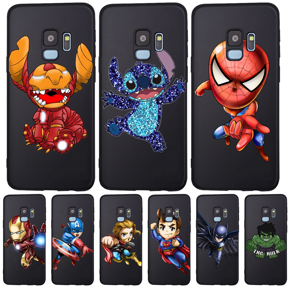 Marvel Stitch DIY For <font><b>Samsung</b></font> Galaxy S6 S7 Edge S8 S9 S10 Plus Lite Note 8 9 A20 <font><b>A30</b></font> A40 A50 A70 phone Case Cover Coque Etui image