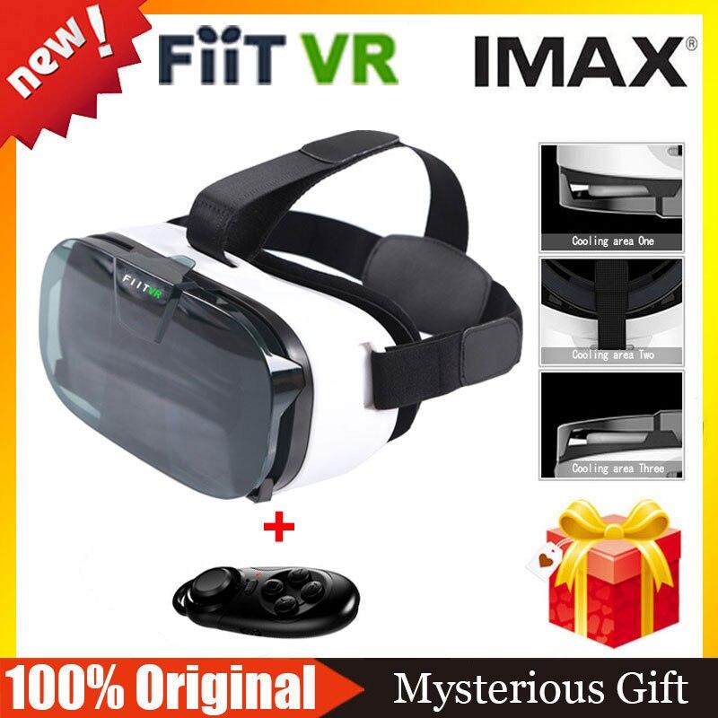 2017 FIITVR 2N <font><b>Virtual</b></font> <font><b>Reality</b></font> 3D Glasses <font><b>VR</b></font> <font><b>BOX</b></font> Google <font><b>Cardboard</b></font> BOBO <font><b>VR</b></font> Enjoy 3D <font><b>Movies</b></font> <font><b>Games</b></font>+ Bluetooth Controller Remote