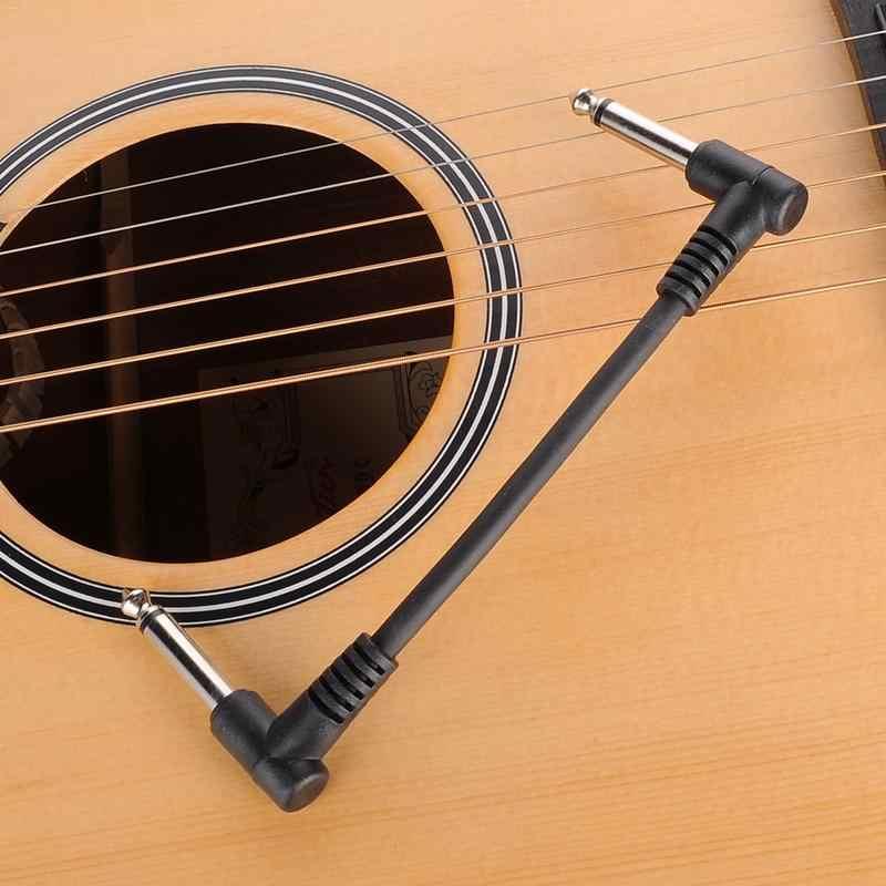 """מכירה לוהטת 15 ס""""מ אורך גיטרה אפקט דוושת אספקת חשמל כבל חוט מתאם גיטרה Stompbox אפקטים כוח קו עבור גיטרה חשמלית"""