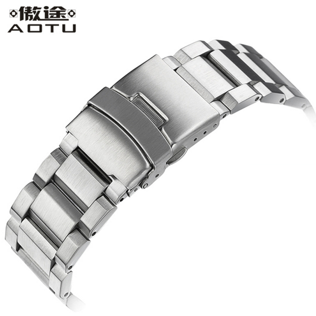 Stainless Steel Watchbands For Tissot 1853/Rolex/Longines/Daniel Wellington/IWC Men Watches Band Top Quality Ladies Watch Straps