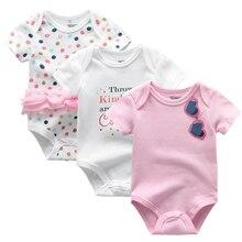 Baby bodysuits Summer Clothes Baby Boy short Sleeves Cartoon Bodysuit New Newborn Girl Climbing Pajama