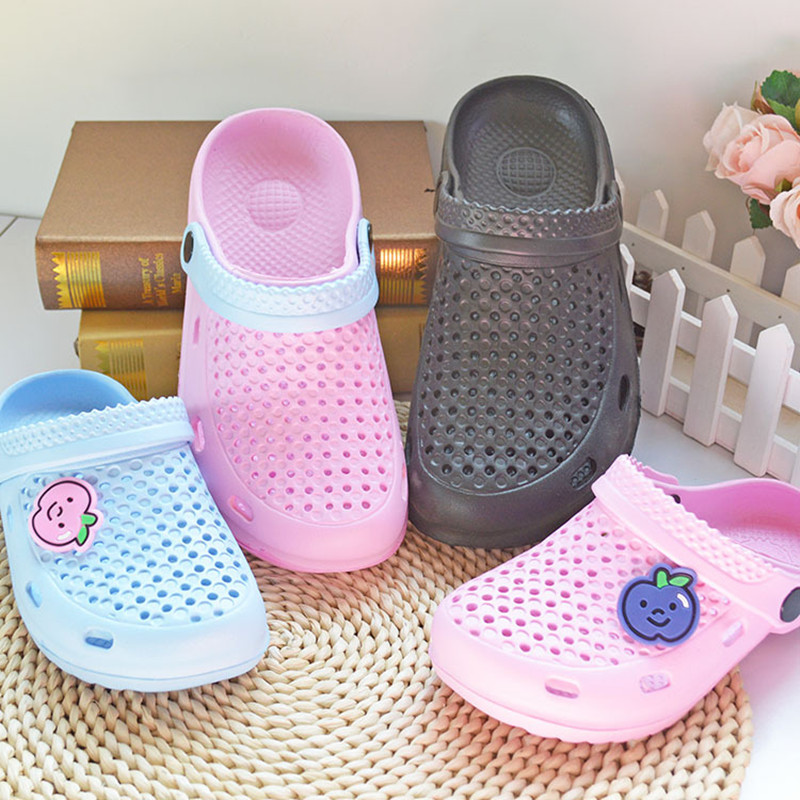 New Ladies Butterfly Beach CLOGS Womens Garden Sandal Water Proof Mules Shoes