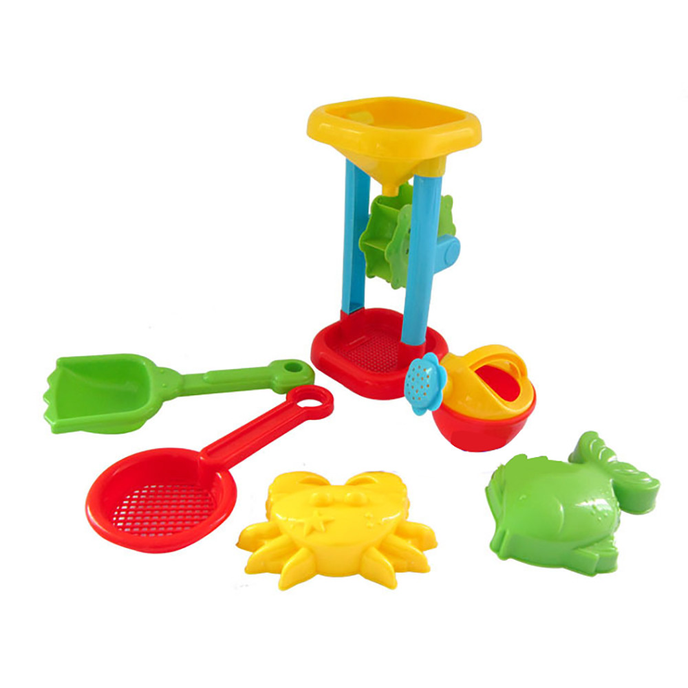 Pools & Water Fun Random Color Kids Beach Toys 6pcs Sand Sandbeach Kids Beach Toys Castle Bucket Spade Shovel Rake Water Tools Beach Toys Mj1128 Sufficient Supply Beach/sand Toys