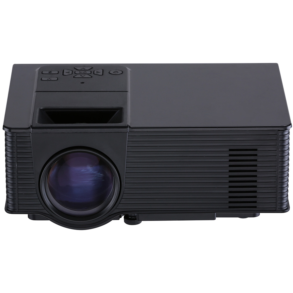 Hot vs314 led mini projector 1500 lumens 1080p home for Highest lumen pocket projector