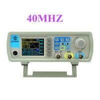 JDS6600 series DDS signal generator 40M Digital Dual channel Control frequency meter Arbitrary sine Waveform 38%off
