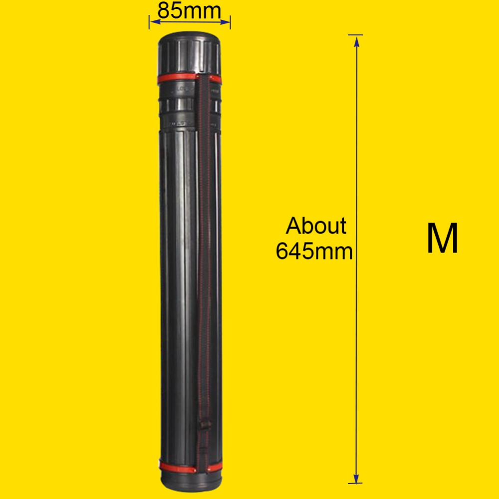 Cylindrical Plastic Picture Tube 1
