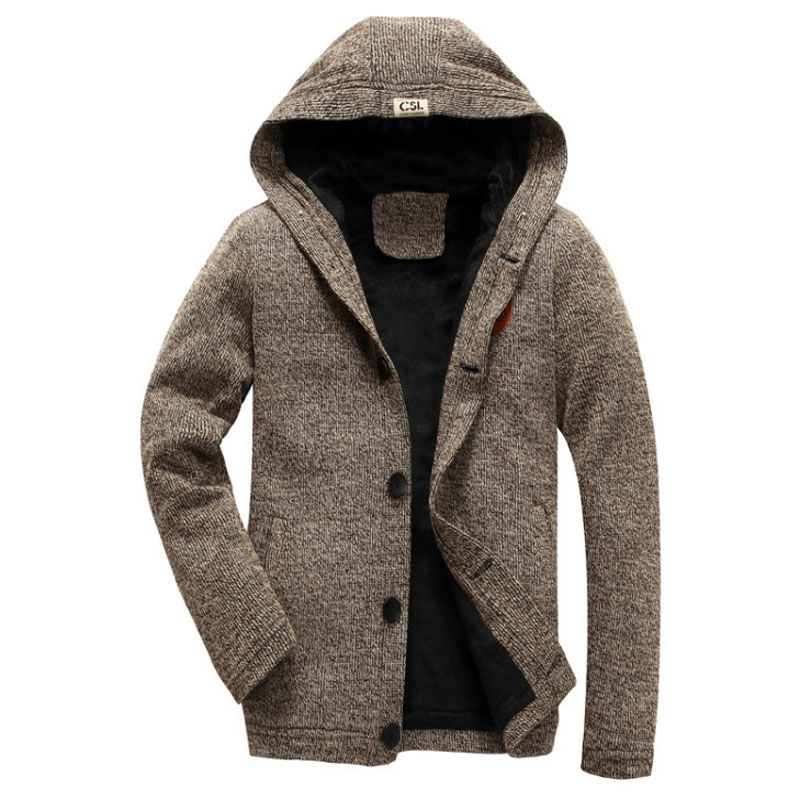 For me near men cardigan hooded sweaters plus size von
