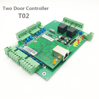 Wiegand RFID Two Door Access Control System 2 Door Access Control Panel TCP/IP Door Security Access Controller T02
