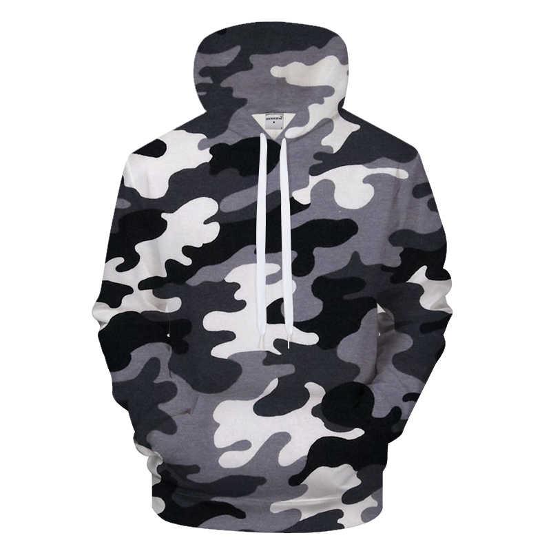 2bd0993e7a37e Grey Groot Hoodie Men Camo Hoody Casual Tracksuit LongSleeve Sweatshirt  Streatwear Coat Pullover Harajuku Drop Ship