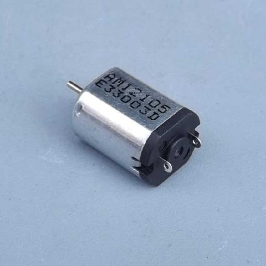 N20 Yüksek Hızlı Güçlü Manyetik Motor DC 3.7 V 30000 rpm Mikro DC Motor Bakır Tel Ile Modelleri Motor Planör, 4-Axis Uçak