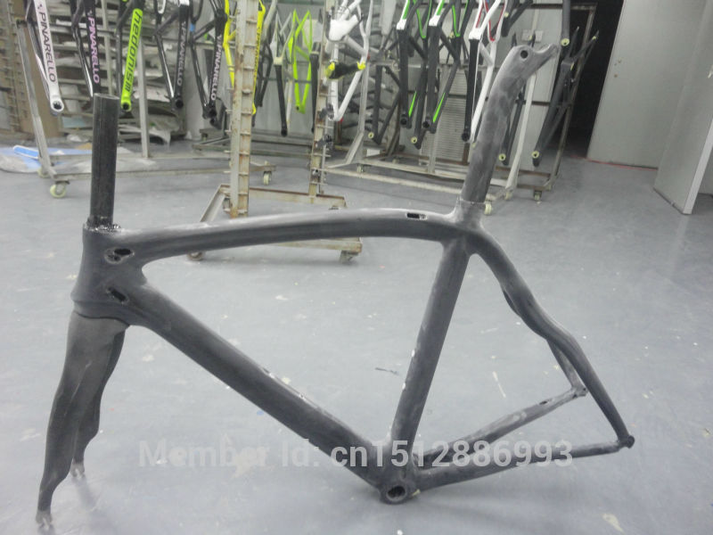 New OEM 700C Road bike 3K full carbon fibre workblank frame carbon bicycle frame fork+seatpost+seat clamp+headsets Free shipping adidas набор get ready туалетная вода 50 мл гель для душа 250 мл