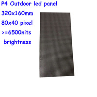P4 outdoor led module, full color RGB led sign board, 320MM*160MM, 80*40 pixel, p4 led display screen panel