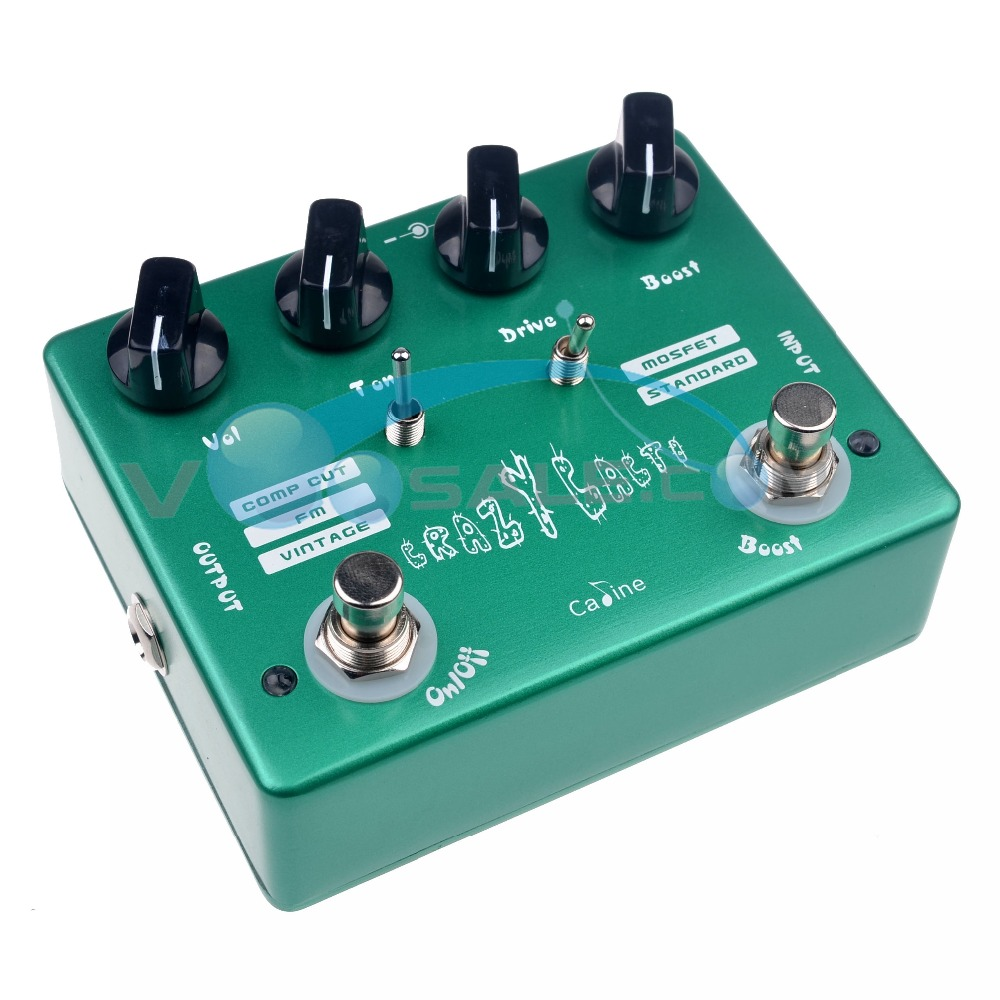 Caline CP-20 Crazy Cacti Overdrive Гитара әсері - Музыкалық аспаптар - фото 6
