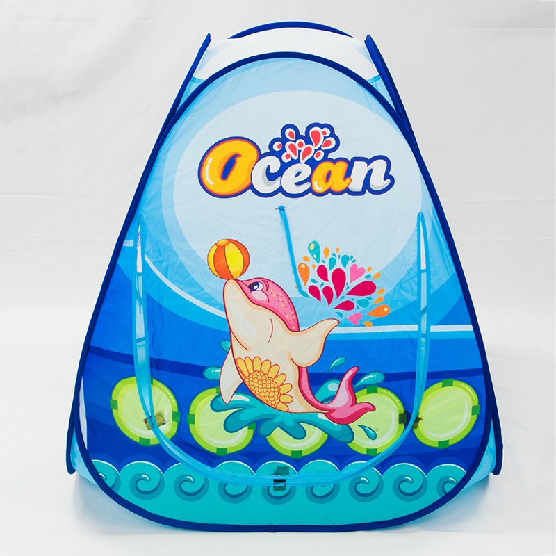 Portable-Children-Play-Tents-Bbay-Outdoor-Garden-House-Castle-Tent-Folding-Kids-Ocean-Animals-Toy-Tent