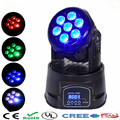 Hot Night Club party LED moving head light 7x12w mini beam moving light dj disco lights profession DMX512 stage light chandelier