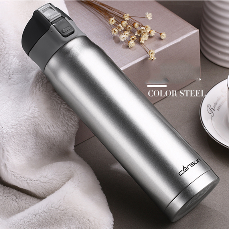 Vacuum Flask Cup 304 Stainless Steel Thermo Mug Insulated Thermos Coffee Cup Thermal Bottle Thermo Cups For Outdoor 480ML