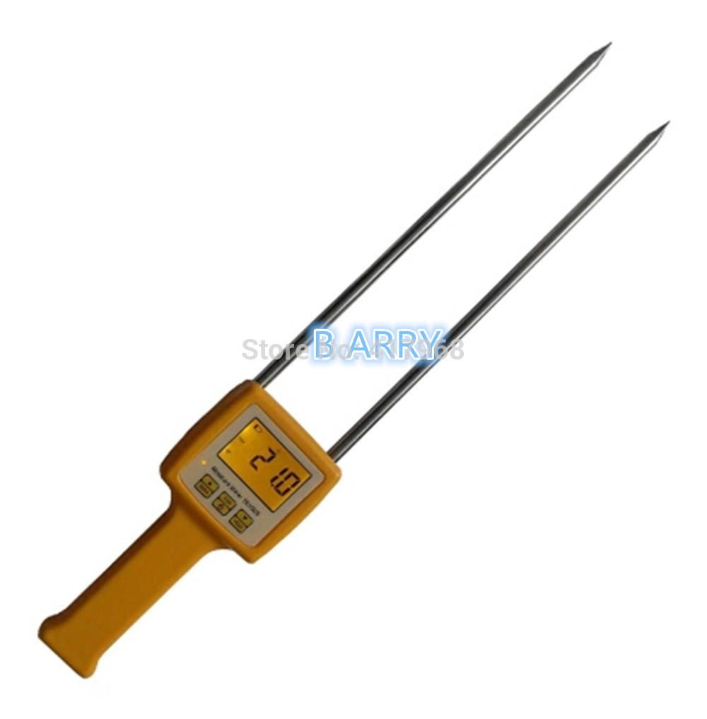 ФОТО Digital moisture meter Portable Grain Moisture Meter TK100S use for Corn,Wheat,Rice,Bean,Wheat Flour