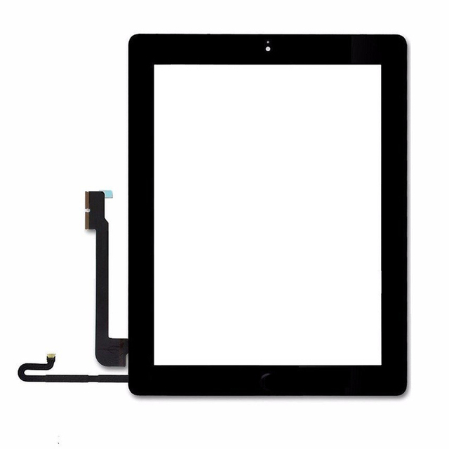 LOVAIN 20PCS Mix Color Tested For Apple iPad 4 Touch Screen Digitizer With Home Button DHL Free